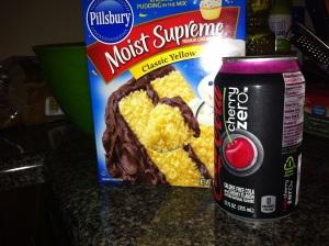 Soda Can Cupcakes